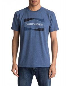 Quiksilver Men's Chappy Mod Logo Print Tee Shirt
