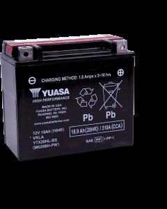 Yuasa YTX20HL-BS-PW Battery