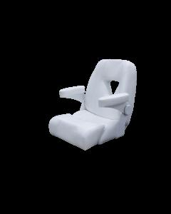 "Taco Marine 25"" Boca Sport Helm Chair, White"