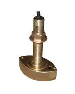 Furuno 525T-BSD Bronze Thru Hull Transducer with Temperature,  600W,  10 Pin