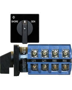 Blue Sea Systems 30A Switch, 2 Positions + OFF, 4-Pole