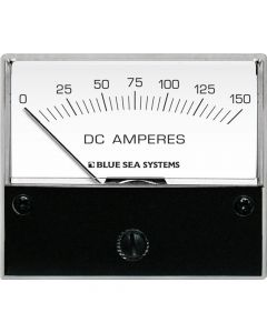 "Blue Sea Systems 8018 DC Analog Ammeter, 2-3/4"" Face, 0-150 Amperes DC"
