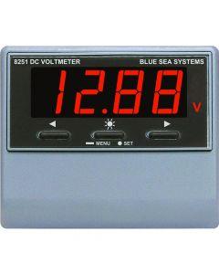 Blue Sea 8251 DC Digital Voltmeter w/Alarm