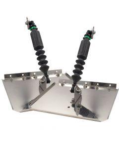 "Nauticus Smart Tabs Trim Tabs 17'-22', 150-240HP, 12""X9"""