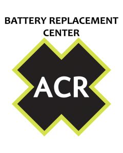 ACR Electronics FBRS 2774 Battery ServiceIncludes 1096 Battery Parts Labor, Sku 34041 - ACR
