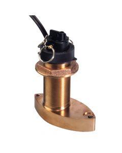 Raymarine B744V Bronze Thru Hull Triducer with 45' cable