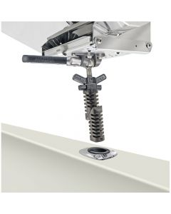Magma, Pow'r Grip/LeveLock Adjustable Rod Holder Mount, Grill Mounting Hardware