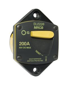 Blue Sea Systems Blue Sea 7049 200 Amp Panel Mount 187 Series Circuit Breaker