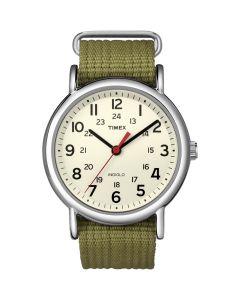 Timex Weekender Slip-Thru Watch - Olive Green
