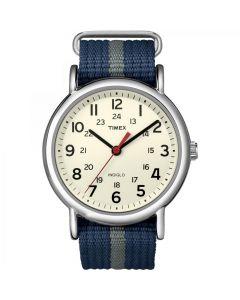 Timex Weekender Slip-Thru Watch - Navy/Gray
