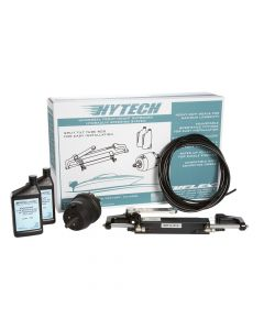 Uflex HYTECH 1.0 Front Mount OB Steering System f/Up to 150HP w/UP20 F Helm, UC94-OBF, 40' Nylon Tubing, 2 Quarts Oil
