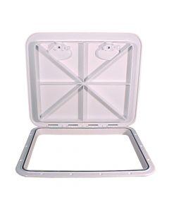 Beckson 18x21 Flush Hatch Horizontal or Vertical - White