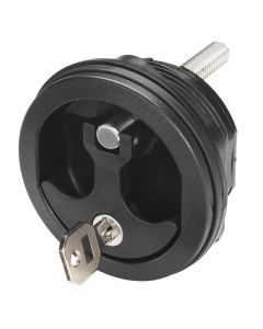 Whitecap Compression Handle - Nylon Black/Black - Locking