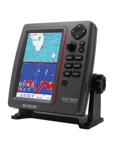 Si-Tex SVS-760CF Dual Frequency Chartplotter/Sounder - 600W