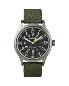Timex Expedition Scout Metal Watch - Green/Black