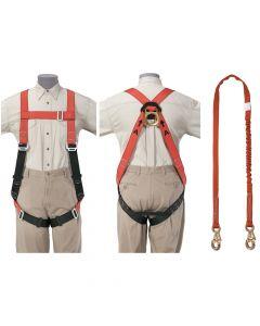 Klein Tools Fall Arrest Harness Set - Klein-Lite® Tradesman's Set