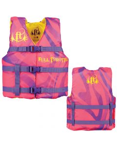 Full Throttle Character Life Vest - Youth 50-90lbs