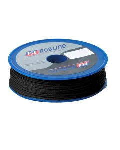 FSE Robline Waxed Tackle Yarn Whipping Twine - Black - 0.8mm x 80M