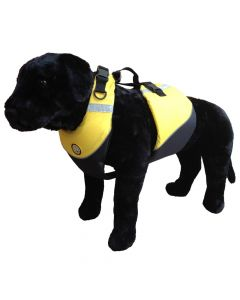 First Watch Marine Flotation Dog Vest - Hi-Visibility Yellow