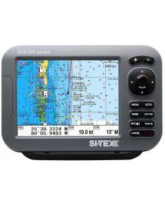 Si-Tex SVS-880C 8 Chartplotter w/Internal GPS Antenna & Navionics+ Card