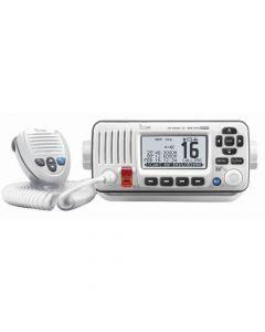 Icom M424G Fixed Mount VHF Marine Transceiver w/Built-In GPS - Super White