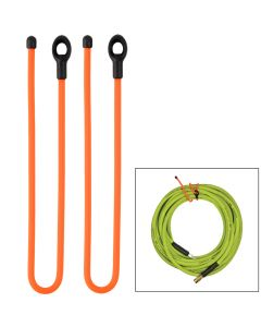 Nite Ize Gear Tie 24 Loopable Twist Tie - Bright Orange 2 Pack