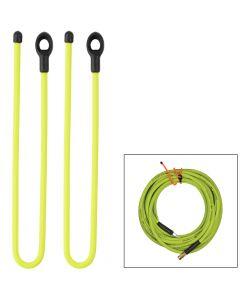 Nite Ize Gear Tie 24 Loopable Twist Tie - Neon Yellow 2 Pack