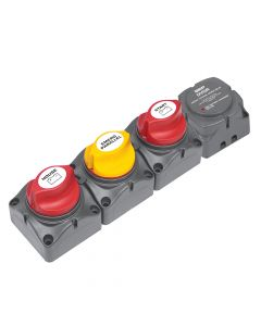 Marineco BEP Horizontal Battery Distribution Cluster f/Single Engine w/Two Battery Banks