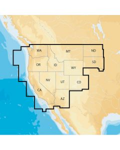 Navionics Navionics+ Regions - West - Preloaded MSD Format