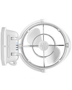 Caframo Sirocco II 3-Speed 7 Gimbal Fan - White - 12-24V