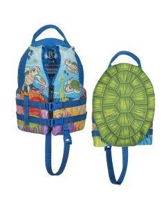 Full Throttle Water Buddies Vest - Child 30-50lbs - Turtle