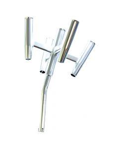 Tigress Five Banger Aluminum Rod Holder - Bent Butt