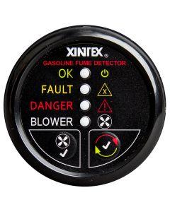 Fireboy Xintex Gasoline Fume Detector & Blower Control w/Plastic Sensor - Black Bezel Display