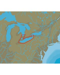 C-Map NT+ NA-C112 Lake Erie & Lake St Clair - C-Card Format