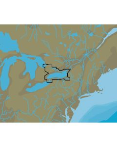 C-Map NT+ NA-C113 Lake Ontario & The Trent Severn - FP-Card Format