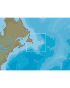C-Map NT+ NA-C204 Newfoundland & The Grand Banks - FP-Card Format