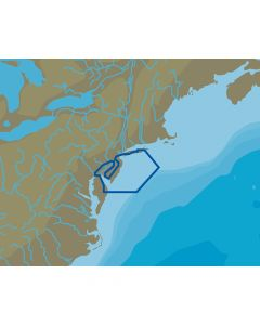 C-Map NT+ NA-C334 Shinnecock Bay to Deleware Bay - FP-Card Format
