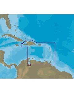 C-Map NT+ NA-C510 Eastern Caribbean Sea - C-Card Format