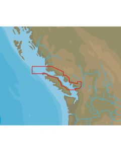 C-Map NT+ NA-C711 Point Roberts to Cape Scott - C-Card Format