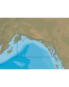 C-Map NT+ NA-C811 Chatham Strait to Prince William Sound - C-Card Format