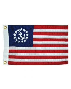 Taylor Made 12 x 18 Deluxe Sewn US Yacht Ensign Flag