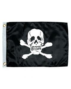 Taylor Made 12 x 18 Jolly Roger Novelty Flag