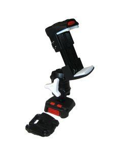 ScanStrut ROKK Mini Kit w/Universal Phone Clamp, Adjustable Arm & Screw Down Surface Base