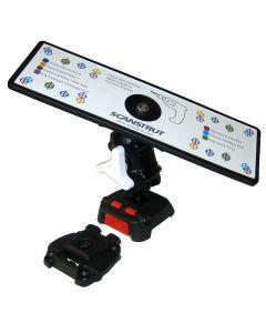 ScanStrut ROKK Mini Universal Mount Kit w/Universal Self-Drill Top Plate, Adjustable Arm & Screw Down Surface Base