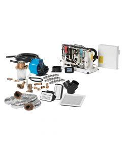 Webasto FCF Platinum Series Air Conditioner Complete System Kit w/KoolAir PM500 Pump & Ducting - 10,000 BTU/h - 115V
