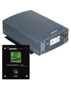 Samlex 1500W Pure Sine Wave Inverter - 12V w/LCD Display Remote Control