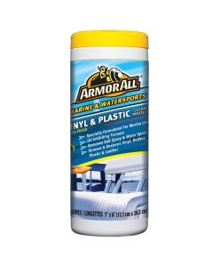 Armor All Vinyl & Plastic Cleaner Protector Wipes - *Case of 6*