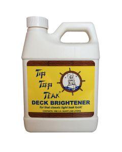 Tip Top Teak Tip Top Teak Deck Brightener - Quart - *Case of 12*