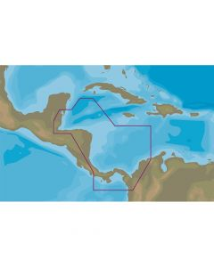 C-MAP MAX-N+ NA-Y966 - Belize to Panama