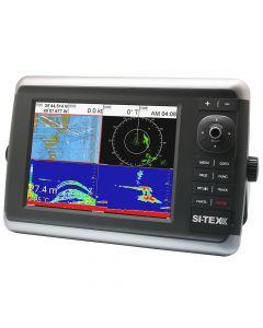 SI-TEX NavStar 12R GPS Chartplotter, Sonar, Radar System w/MDS-12 Radar